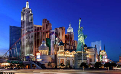 New York New York Hotel Casino Las Vegas Hotels Travel Trolley