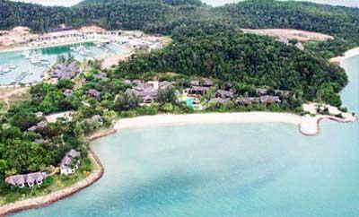 How To Get To Rebak Island Resort